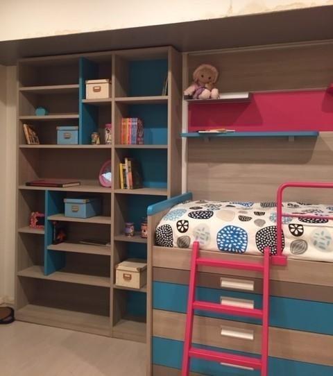 Produzione librerie - Biassono, Brianza - Camerette Mobili Porro