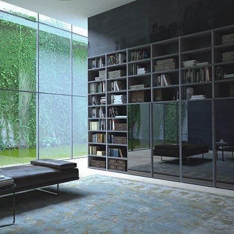 Librerie e pareti attrezzate salvaspazio for Librerie pareti attrezzate