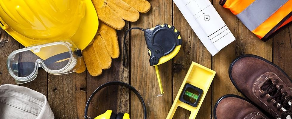 dispositivi di protezione, articoli per il primo soccorso, abiti e scarpe antinfortunistiche
