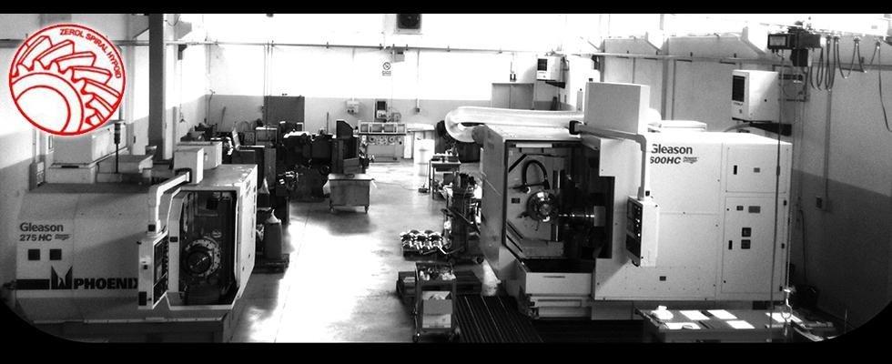 impianti di ingranaggi conici a marchio gleason