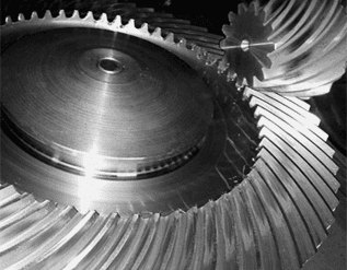 Gleason spiral gears