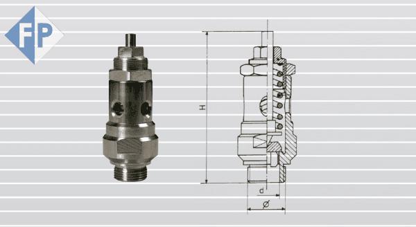 Valvole limitatrici di pressione - 084 INOX