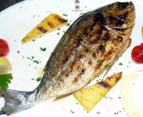 Seciondi piatti di pesce