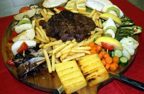Secondi piatti a base di carne e verdure