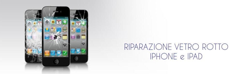 riparazione vetro iphone ipad