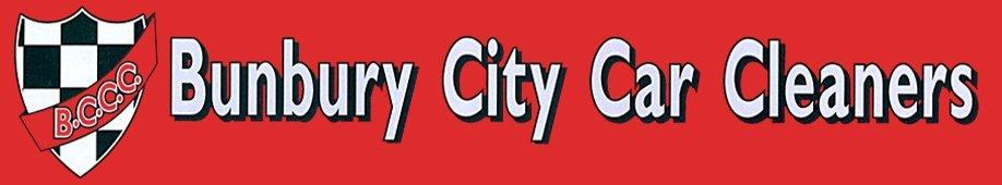 bunbury city car cleaners logo