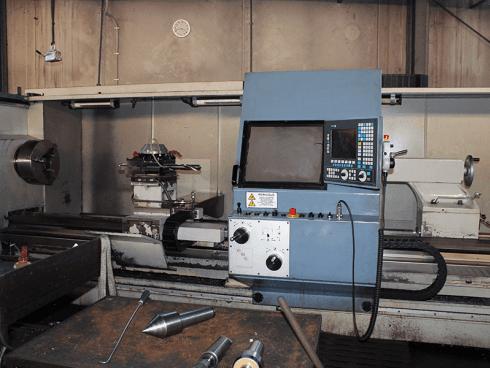 OMG 500x4000 CNC, passaggio barra 130.