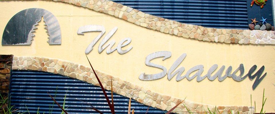 The shaws signage