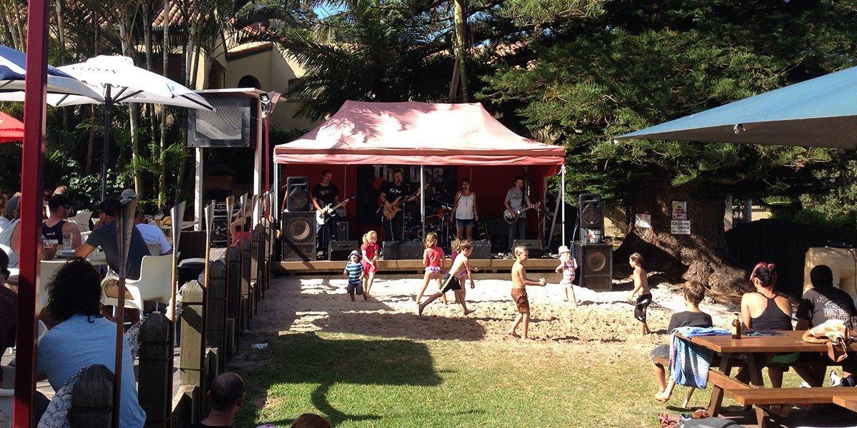 Children enjoying at an event