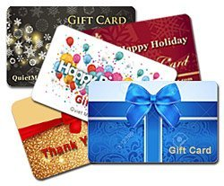 Order gift cards online - the perfect gift