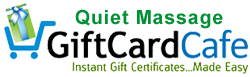 Buy online gift certificates to email or print at The Gift Card Cafe