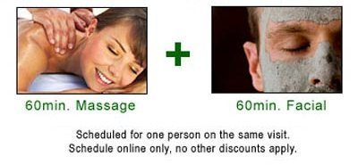 $30-OFF spa facial treatment with optional massage
