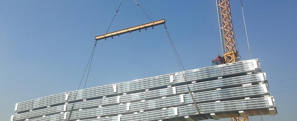sollevamento tetti