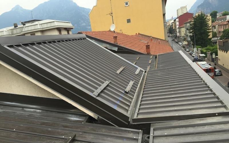 Rivestimento tetti case - Lecco