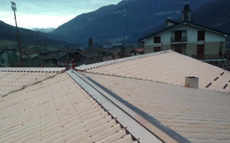 Lavori tetto case- Lecco