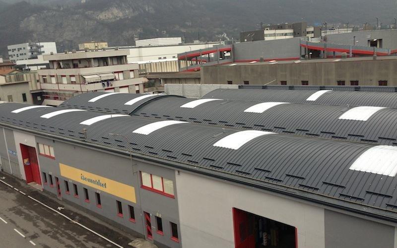 Copertura tetti aziendali - Lecco