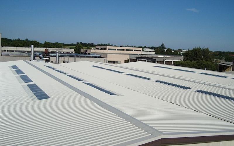 Copertura tetto industriale - Lecco