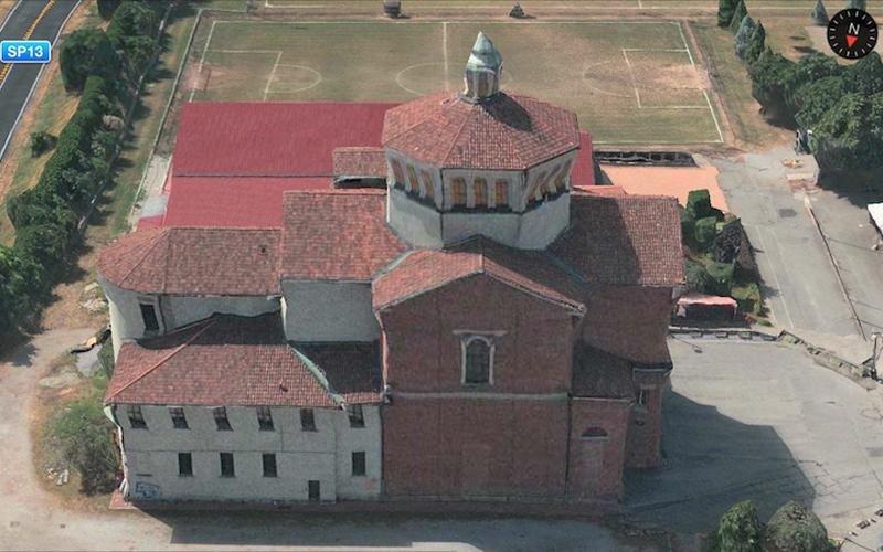 Ristrutturazione tetto Chiesa conclusa - Lecco