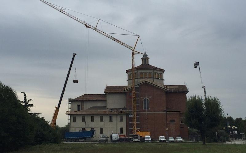 Lavoro di ristrutturazione tetto Chiesa - Lecco