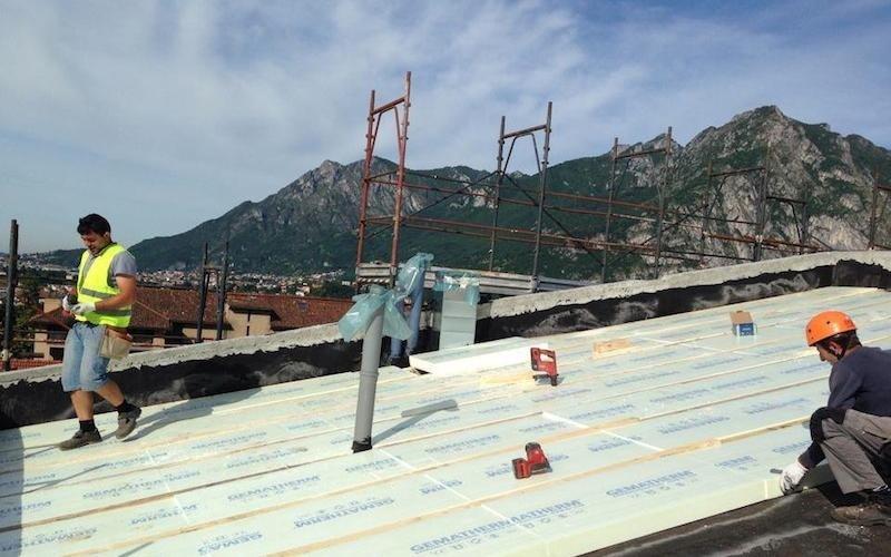 Rivestimento termico tetto - Lecco