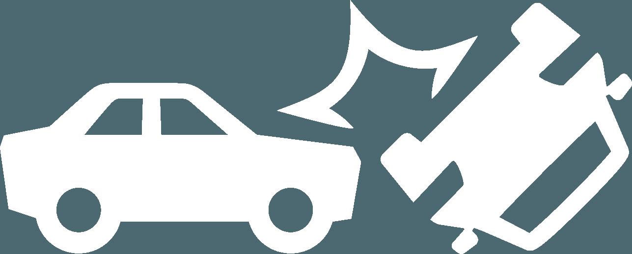 icon of cars crashing