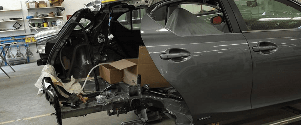 collision repairs provided in Abbotsford