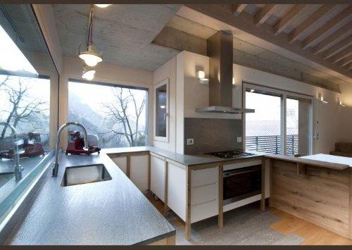 una cucina ad angolo