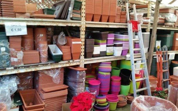 vasi terracotta e colorati