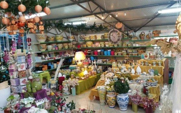 vendita vasi decorati