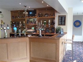 fully fitted bar