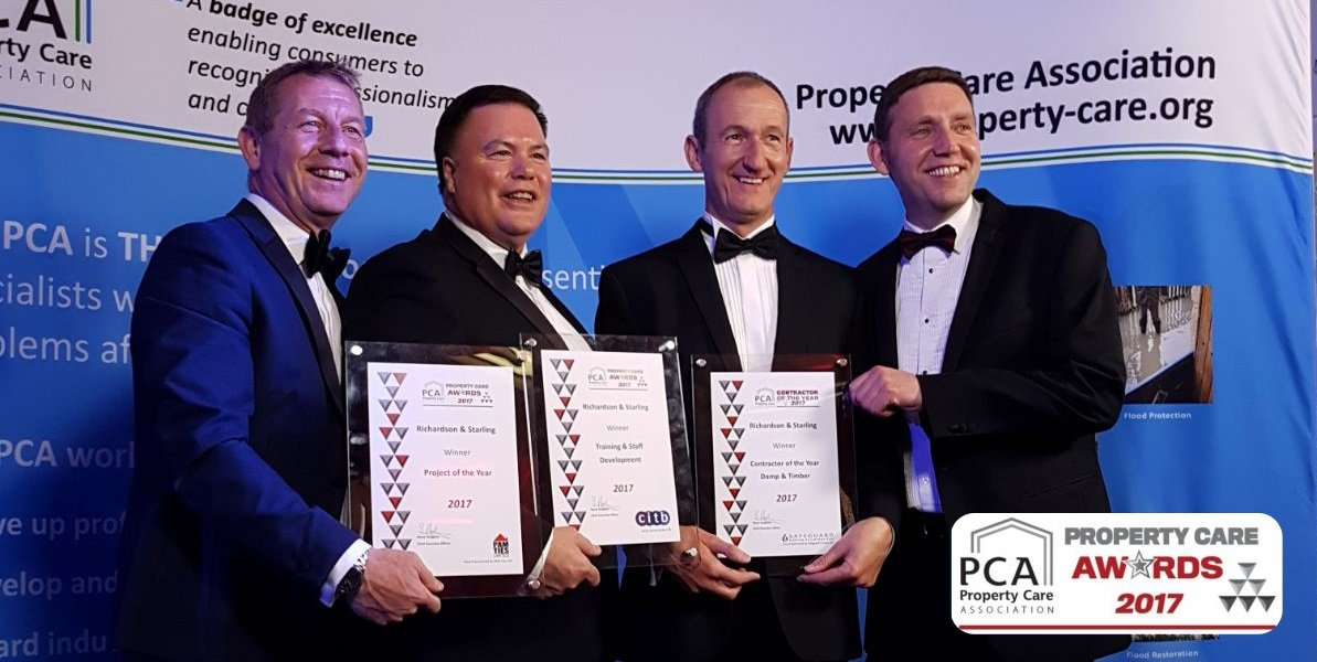 Property Care Association award ceremony - Richardson & Starling