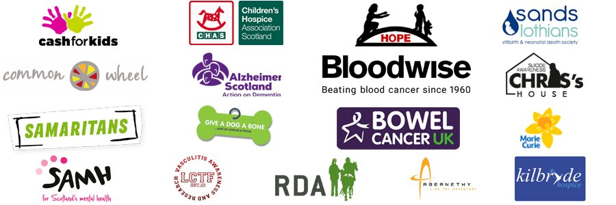 Scottish charity organisations supported by the veitchi group