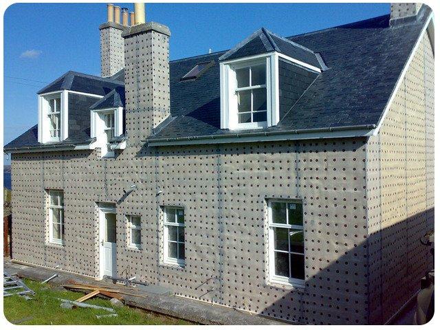 Membraned building exterior