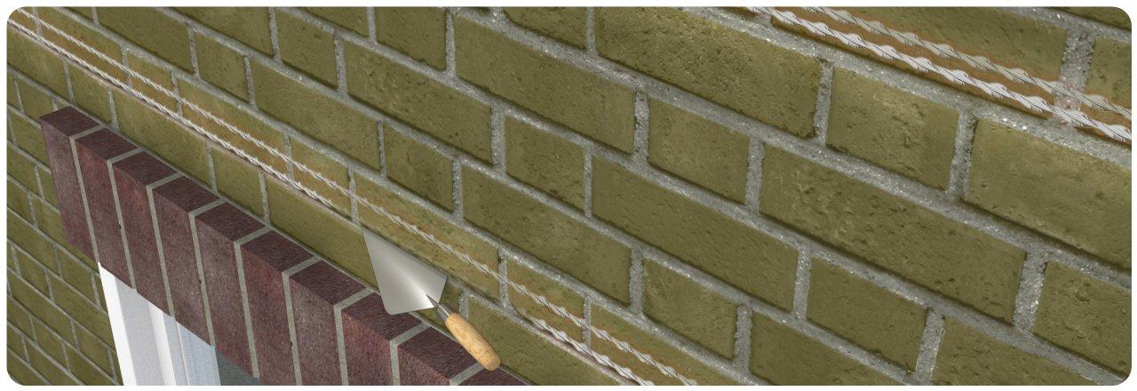 birck arch lintel repairs