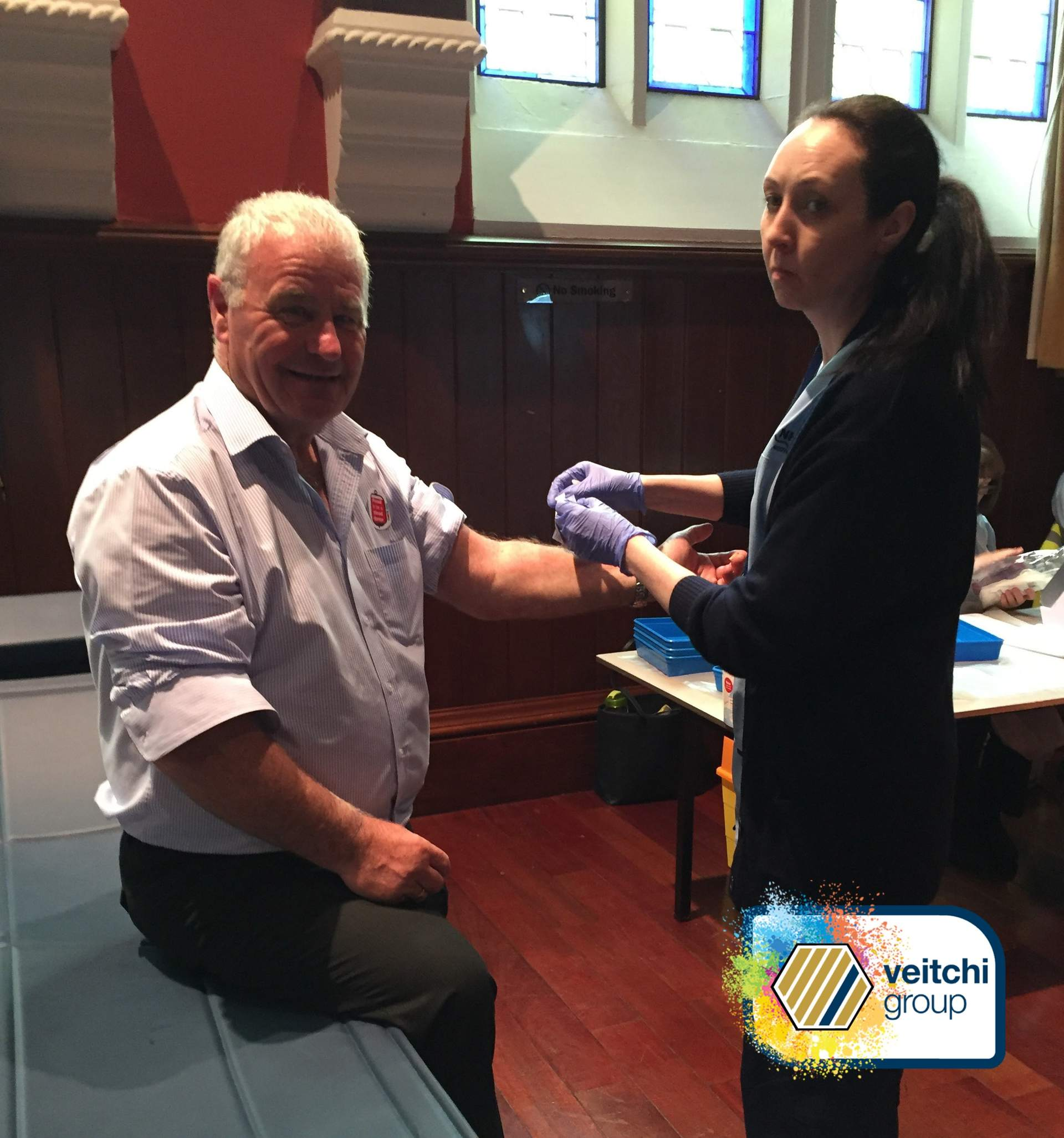 #VeitchiGives - Blood donations, the charitable year 2017