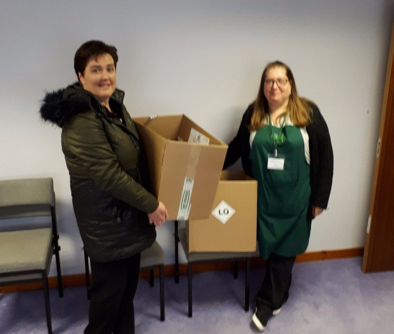 #VeitchiGives - Local food bank donations, the charitable year 2017