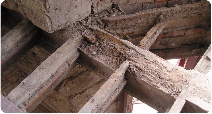 Dry Rot repair works