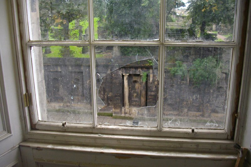 Timber window repair project by Richardson & Starling