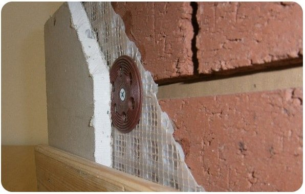 cut model showing how to stop penetrating damp