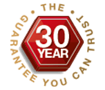 The 30 year guarantee you can trust