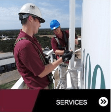Engineers Performing Structural Inspection, College Station TX