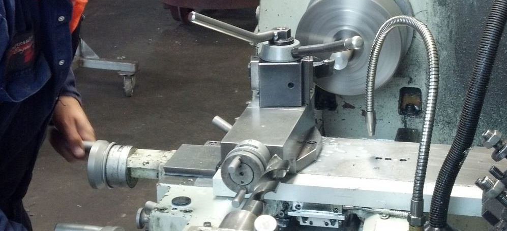 A machine lathe