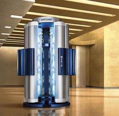 doccia solare 6 colonne