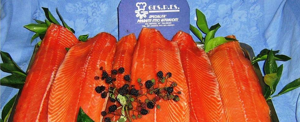 salmone affumincato