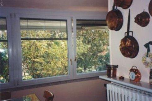 Finestre in una cucina