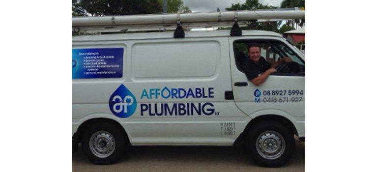 affordable plumbing nt vehicle