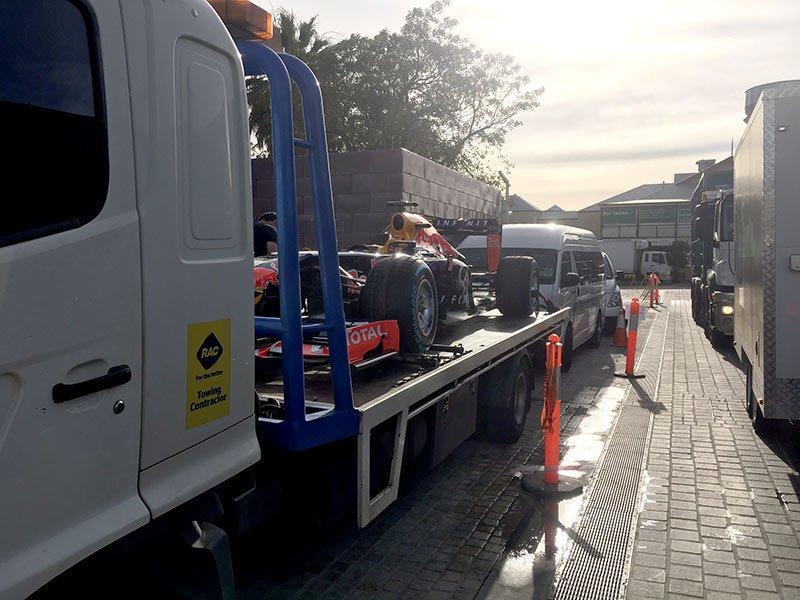 transporting equipment