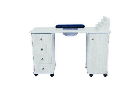 Un funzionalissimo tavolo per la manicure.