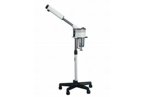 Una apparecchiatura che, grazie ad un getto di vapore, aiuta a preparare la pelle per la pulizia del viso.