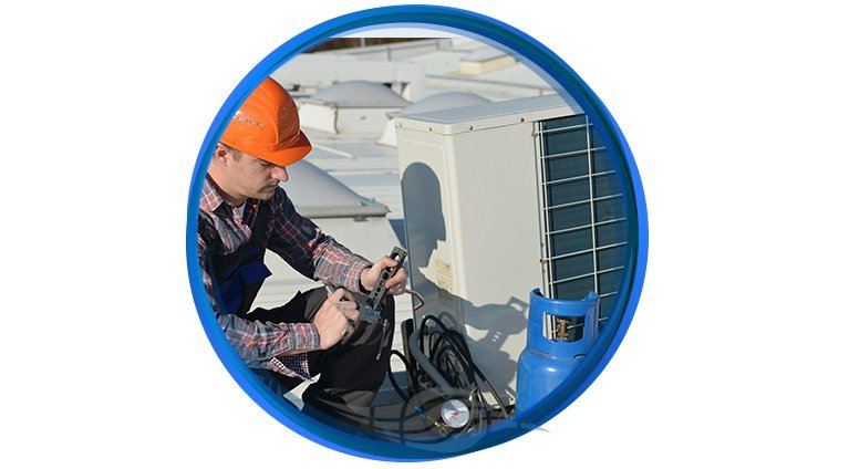 p k airsystem services ducted system repair